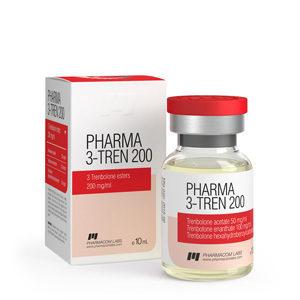 Pharma 3 Tren 200 - kopen Trenbolon Mix (Tri Tren) in de online winkel | Prijs