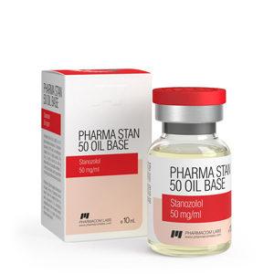 Pharma Stan 50 Oil Base - kopen Stanozolol-injectie (Winstrol-depot) in de online winkel | Prijs