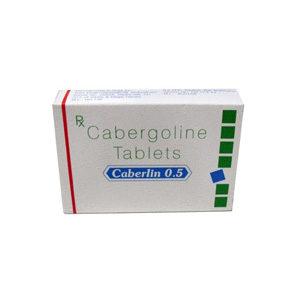 Caberlin 0.5 - kopen Cabergoline (Cabaser) in de online winkel | Prijs
