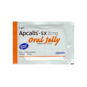 Apcalis SX Oral Jelly - kopen Tadalafil in de online winkel | Prijs