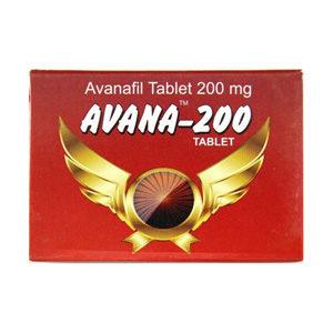 Avana 200 - kopen Avanafil in de online winkel | Prijs