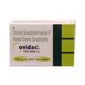 Ovidac 5000 IU - kopen HCG in de online winkel   Prijs