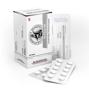 Magnum Clen-40 - kopen Clenbuterol hydrochloride (Clen) in de online winkel | Prijs