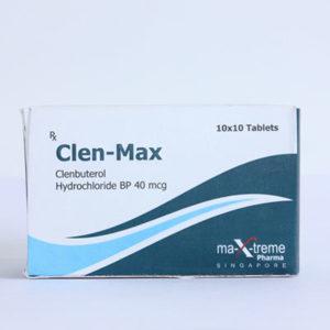 Clen-Max - kopen Clenbuterol hydrochloride (Clen) in de online winkel | Prijs
