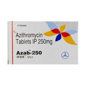 Azab 250 - kopen Azithromycin in de online winkel | Prijs